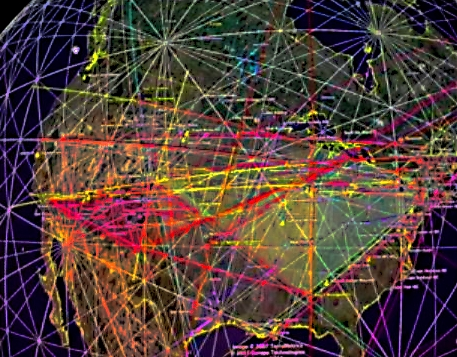 ELECTROMAGNETIC LEY LINES CIRCLE THE EARTH AND ALLOW H.A.A.R.P. AND MIND CONTROL MICROWAVES TO FUNCTION GLOBALLY