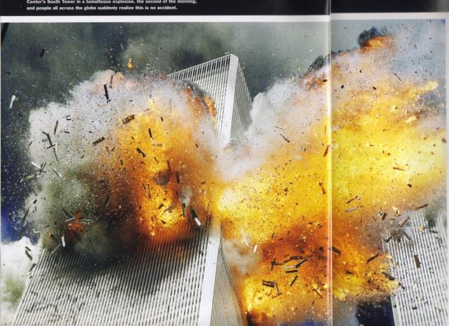 wtc exploding on 9/11